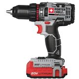 "Porter Cable 20V MAX 1/2"" Lithium Ion Drill/Driver Kit"