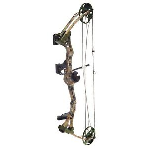 New-2013-Bear-Apprentice-2-RTH-Bow-15-60-Realtree-APG-Camo-Left-Hand-3-Arrows
