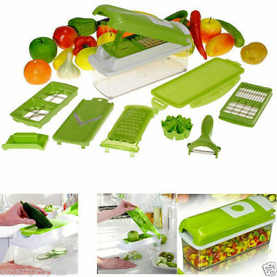Super Slicer Plus Vegetable Fruit Nicer Peeler Dicer Cutter Chopper Grater