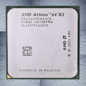 AMD Athlon 64 X2 4400+ ADO4400IAA5DO/5DD socket AM2 940PIN CPU Processor