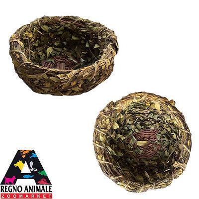 NIDO per uccelli d'erba secca 100% naturale NEST for bird 100% natural