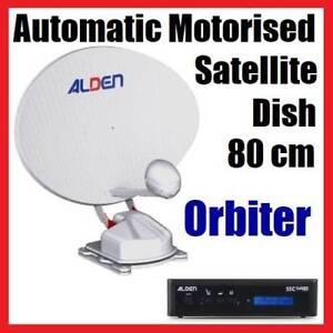 ALDEN ORBITER 80 cm..Automatic Motorized Satellite TV-Caravan Merrylands Parramatta Area Preview