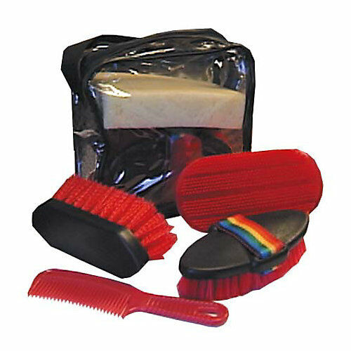 Aime Imports 6 Piece Grooming Kit with Bag