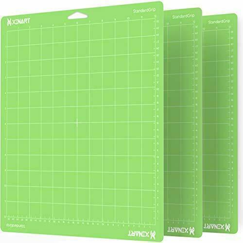 【3PCS Green】 Cutting Mat for Cricut Maker/Explore Variety 12