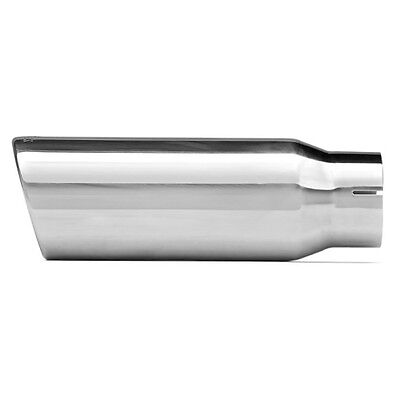 (DYNOMAX PERFORMANCE EXHAUST 36474 Exhaust Tip Single Wall Slant Cut Length 12