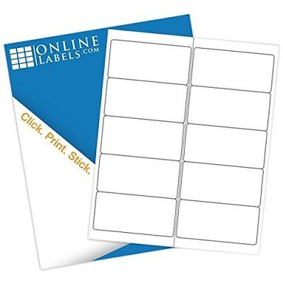 Online Labels - 4 X 2 Waterproof Shipping Labels Polyester