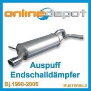 BMW E46 318i Auspuff