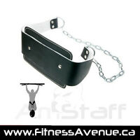 AmStaff Fitness Leather Dip Belt – Brand New