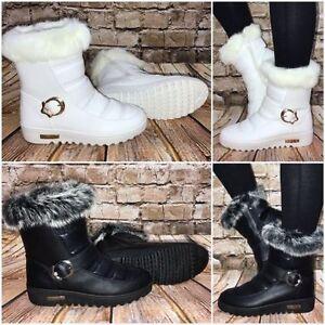 Kuschelige-Winter-Stiefeletten-BOOTS-mit-Kunstfell-gefuettert