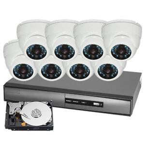 Systèmes de caméras de surveillance vidéo HD  ABORDABLE