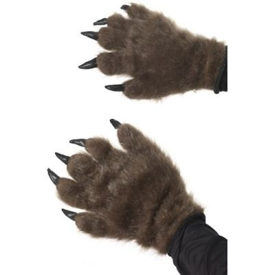 Smi - Halloween Kostüm Zubehör Monster Hände haarige - Halloween Monster Händen