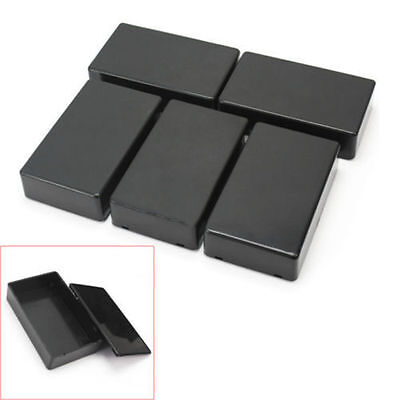 New 5X Plastic Electronic Project Box Enclosure Instrument Case 100x60x25mm NA