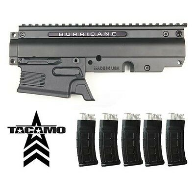 RAP4 Tippmann X7 Hurricane DMag Magazine Conversion Kit w 5 Dmag Helix Mags