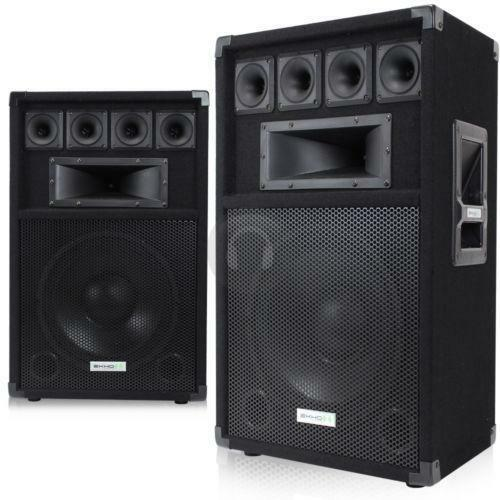 Dj Bass Speakers Ebay