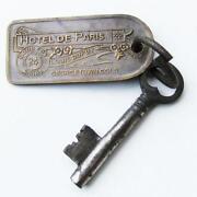Brass Hotel Key