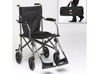 Lightweight Wheelchair with carry bag