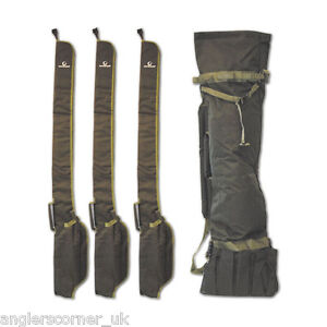 Gardner quiver system rod sleeves carp fishing tackle ebay for Fishing pole sleeves