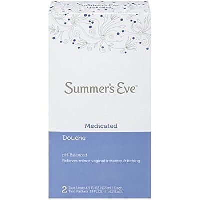6 Pack - Summer's Eve Douche Medicated 2 Each