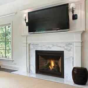 Napoleon B42 ASCENT Direct Vent Clean Face Gas Fireplace