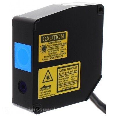 Optex Cd5-w30a Laser Measurement 25 To 35mm Range Wide Beam Mfgd