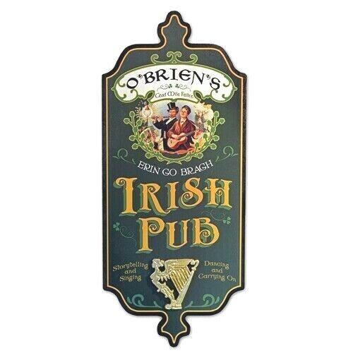 Dubliner Irish Pub Personalized Sign
