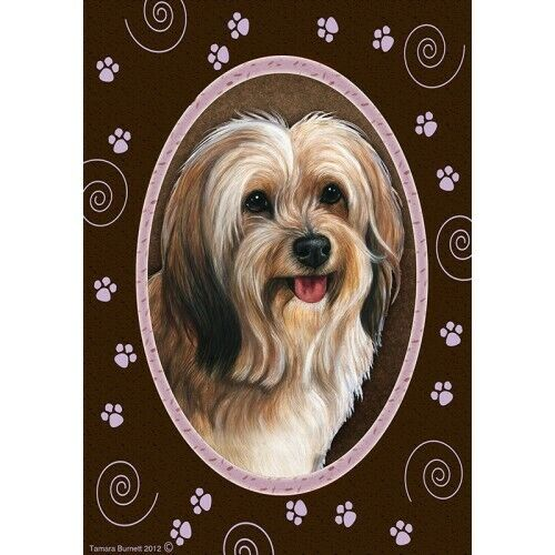 Paws House Flag - Red Sable Tibetan Terrier 17480