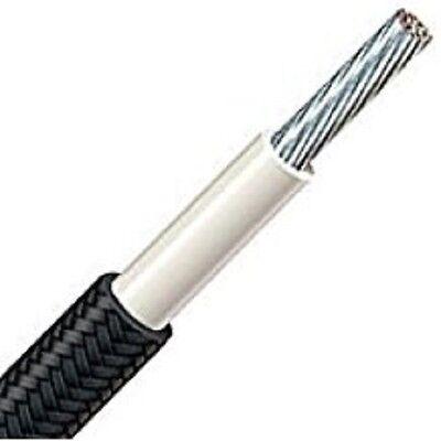 25 Feet 12 Awg. Black 392 F 600 V 200c High-temperature Wire Srml