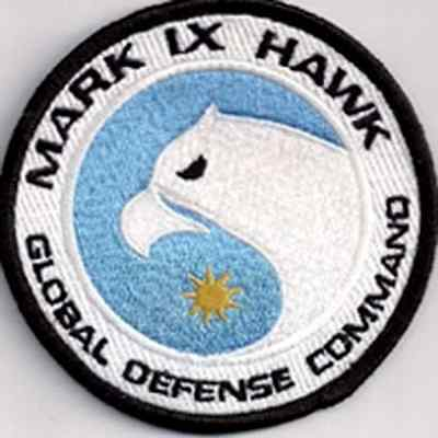 "Space:1999  Eagle Hawk Ops  Logo  3.5"" Uniform Patch- USA Mailed  (SPPA-1910)"