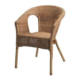 Ikea Wicker Chair -FOR SALE in WALLINGTON