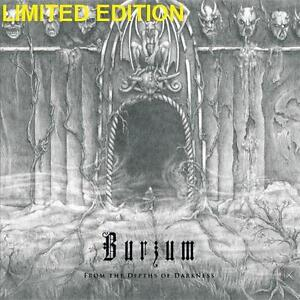 NEW VINYL Burzum LIMITED EDITION - 123615768 - MUSIC RECORD - FROM THE DEPTHS OF DARKNESS LIMITED EDITION