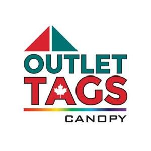 POP UP CANOPIES, FLAGS & TABLE COVERS. OutletTags.com