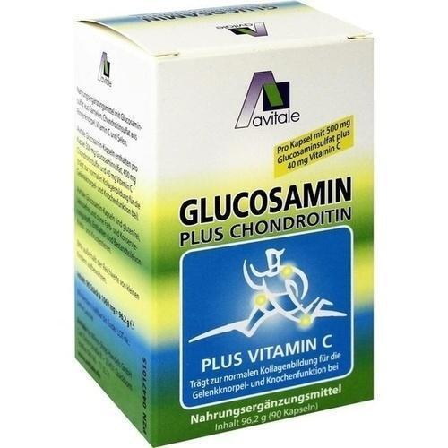 GLUCOSAMIN 500 mg+Chondroitin 400 mg Kapseln 90 St
