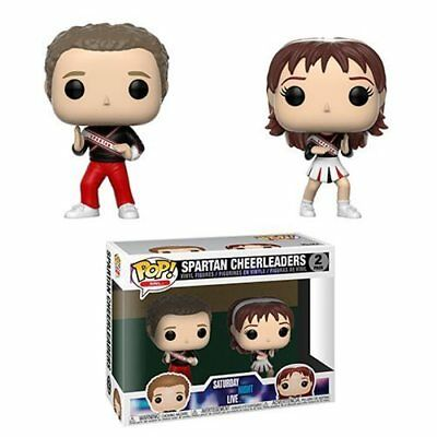 SNL SPARTAN CHEERLEADERS FUNKO POP VINYL FIGURE PACK WILL FERRELL CHERI OTERI