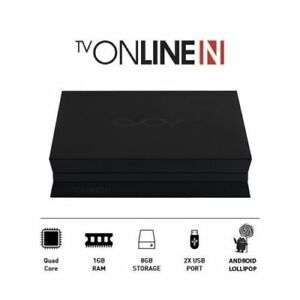 NEW 2018 AVOV TV ONLINE N TVONLINEN 4K HD TV ONLINE PLUS IPTV SET TOP BOX