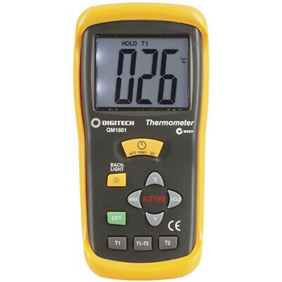 TechBrands Thermocouple Thermometer (2 Input)