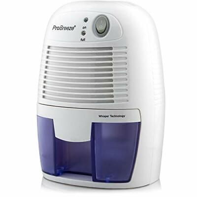 Ultra Quiet Electric Dehumidifier for Small Areas w/ 16oz Water Tank Capacity