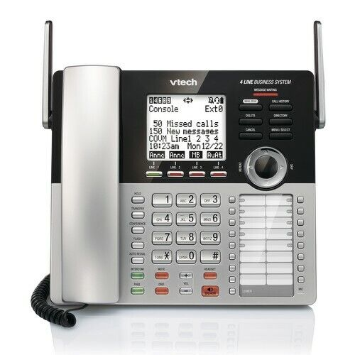 VTech CM18445 Main Console Small Business FOUR line Phone System