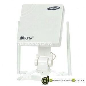 ADAPTADOR-WIFI-USB-NETSYS-990WN-5800mW-TRIPLE-ANTENA-58dBi