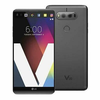 LG V20 - H910 - 64GB - 4G LTE (AT&T Unlocked) - Titan Smartphone