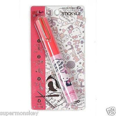 Japan Sun-star Stickyle Sanrio Hello Kitty Pen-style Portable Scissors Ua92138c