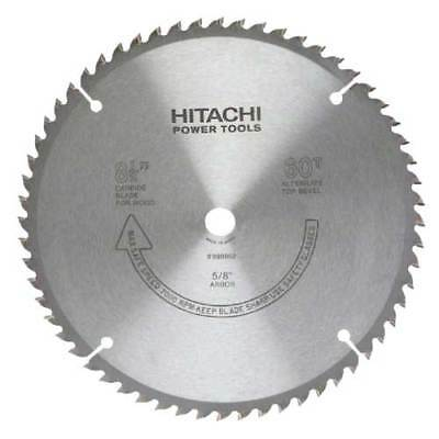 Hitachi Metabo Hpt 998862 8-12 X 60 Tooth Carbide Tipped Circular Saw Blade