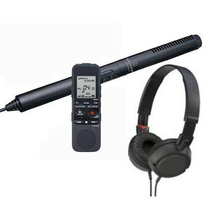 Spy-MAX Security Sound Pro III Professional Shotgun Microphone & Recorder