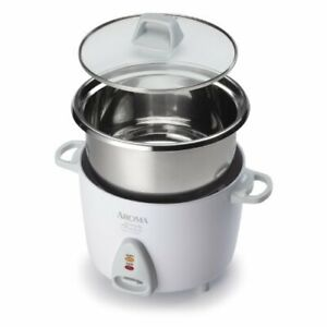 Aroma Stainless Steel Rice Cooker 6-Cup (bnib)