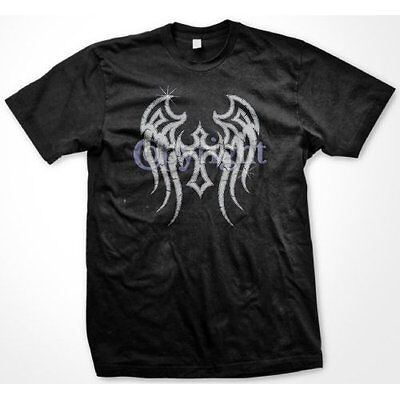 Tribal Wings With Gothic Cross Tattoo Body Art Tat Medieval Mens T-Shirt