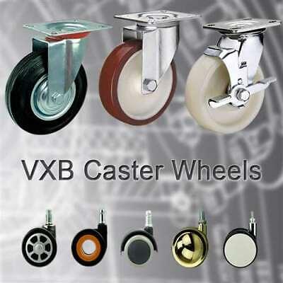6 Inch Caster Wheel 772 Pounds Swivel Polyurethane And Polypropylene Top Plat