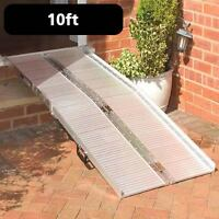 New in Box 10 Foot Aluminum ramp-Takes up to 600 lbs !