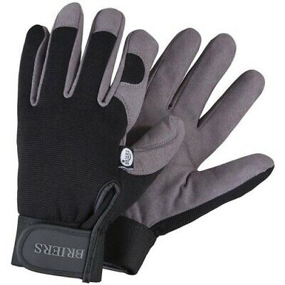 Pack (6) Briers Professional Gardening Gloves Size Medium B0121 NEW