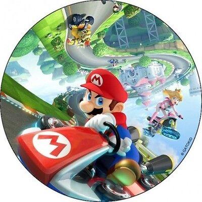 Super Mario Brothers Dekorationen (Super Mario brothers Muffinaufleger DVD Tortenaufleger Dekoration NEU Spiel wii)