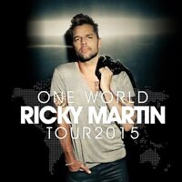 Ricky Martin one world tour 2015 ROUGE 116