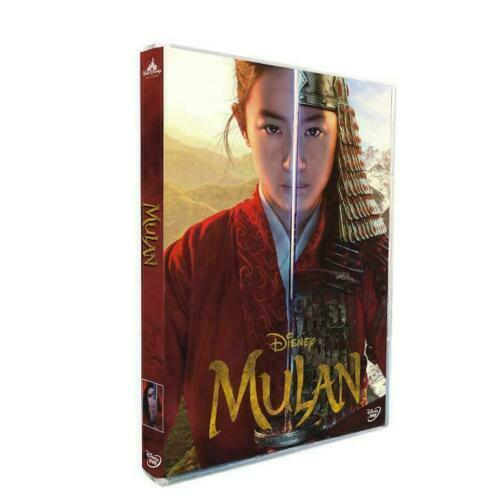 Mulan 2020 New Movie DVD LIVE (ACTION W/ REAL POEPLE)